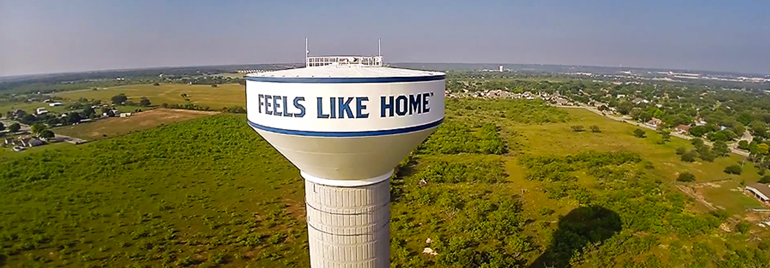 Feels Like Home Water Tower