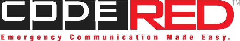 CodeRed Logo - Emergency Communication Made Easy.