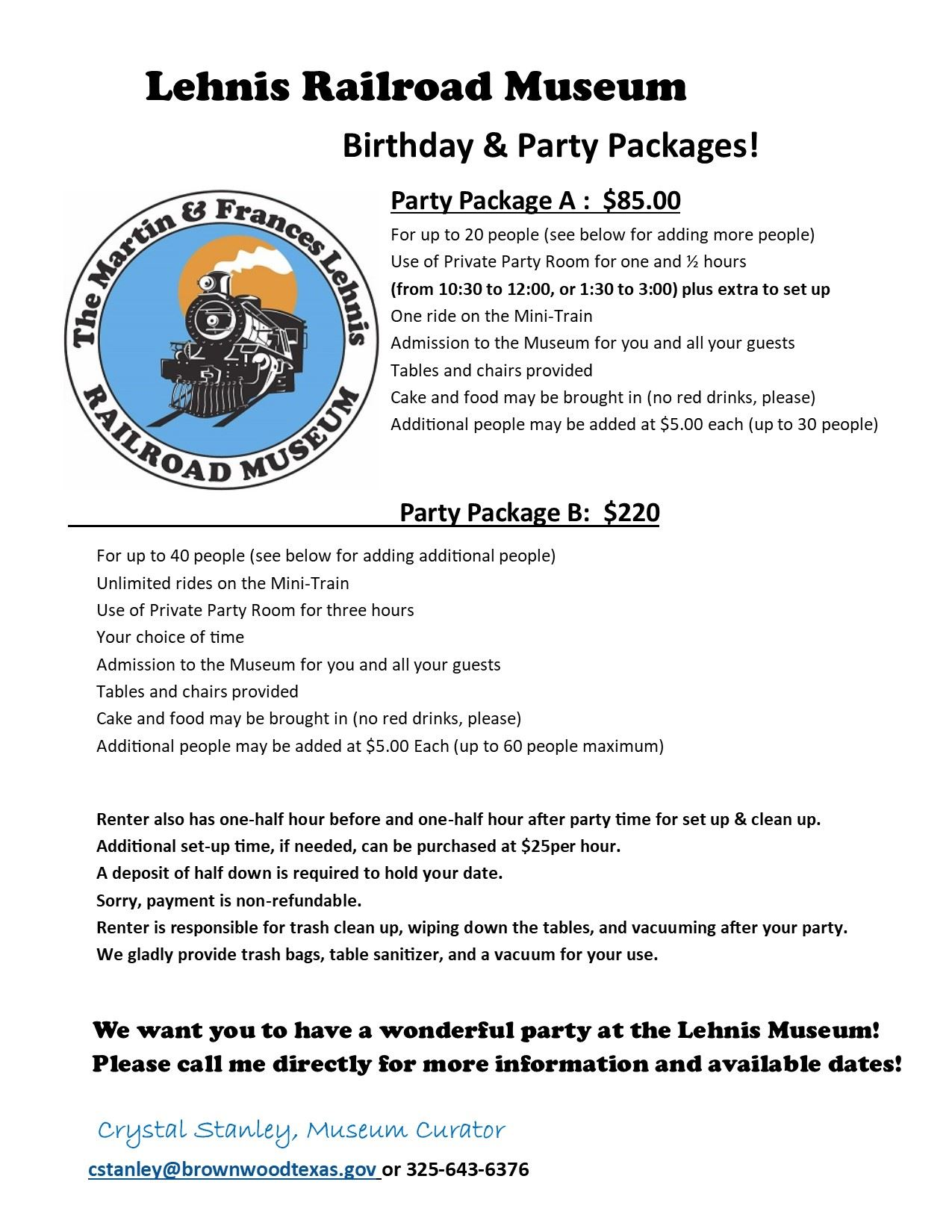 Birthday Party Packages (5)